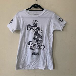 NEFF Disney Mickey Mouse Patchwork Silhouette Tee